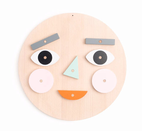Moon Picnic Make a Face Puzzle on DLK