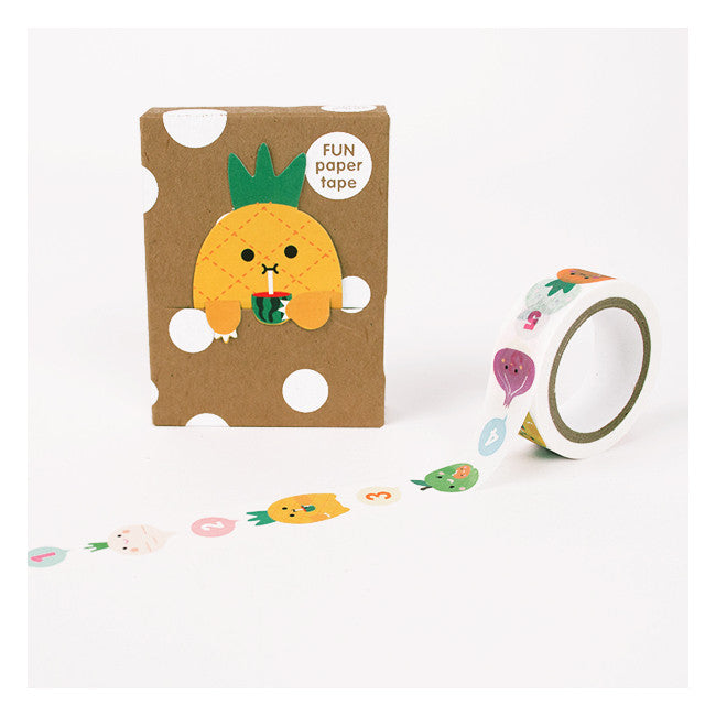 Noodoll Washi Tape and Bookmark Set on DLK