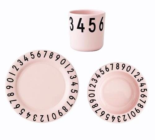 Design Letters The Numbers Melamine Gift Set on DLK | designlifekids.com
