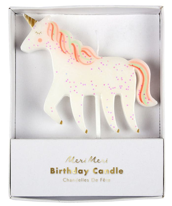 Meri Meri Unicorn Candle on DLK | designlifekids.com