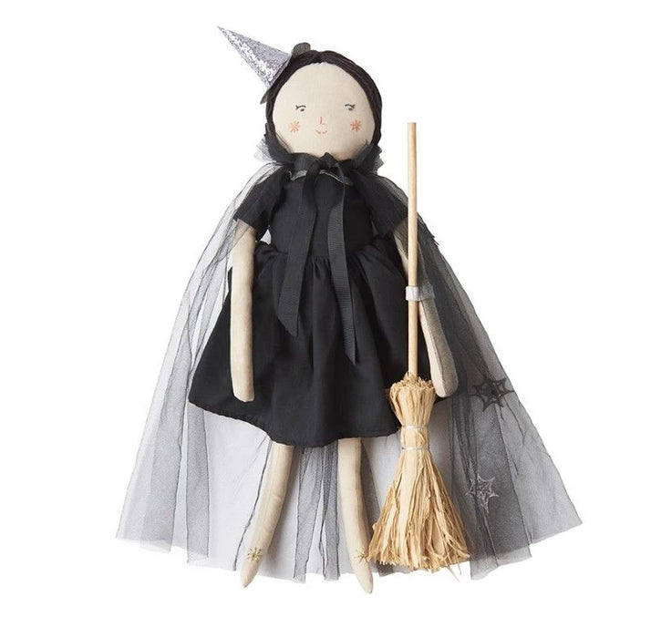 Meri Meri Luna the Witch Doll on Design Life Kids
