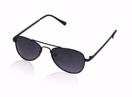 Milk & Soda Black Flynn Aviator Kid's Sunglasses on DLK