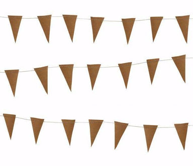 Delight Department Leather Flag Garland on DLK | designlifekids.com