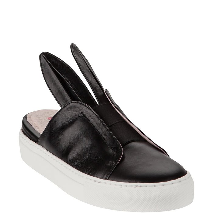 Minna Parikka Bunny Slip On Mini Sneakers on DLK | designlifekids.com