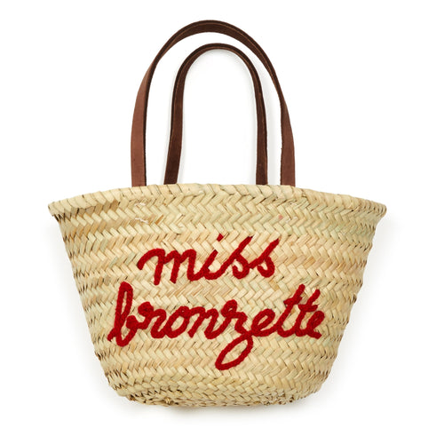 bb3b14e06045 Miss Bronzette Basket Bag