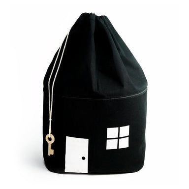 Rock & Pebble Moon Picnic House Storage Bag at Design Life Kit