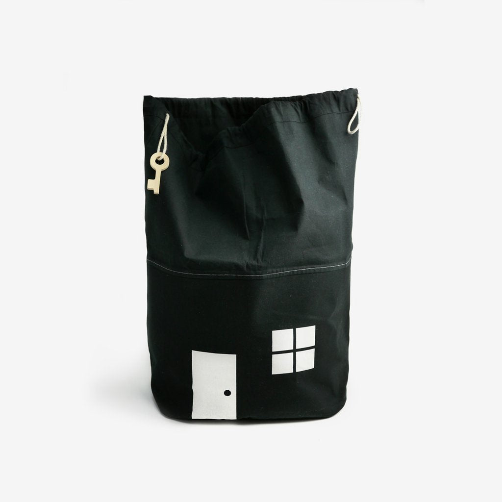 Rock & Pebble Moon Picnic House Storage Bag on DLK | designlifekids.com