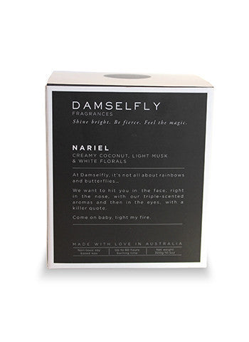 Damselfly Nariel Scent Candle on DLK