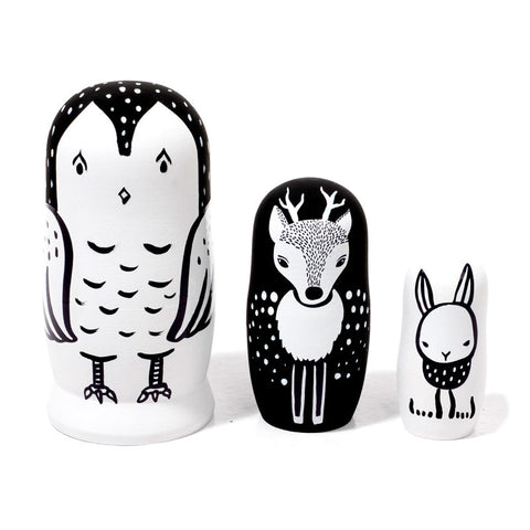 Wee Gallery Nesting Dolls on DLK