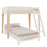 Oeuf Perch Twin Bunk Bed on DLK | designlifekids.com