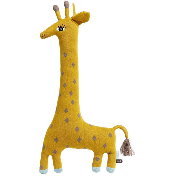 OYOY Noah the Giraffe Cushion Doll on DLK | designlifekids.com