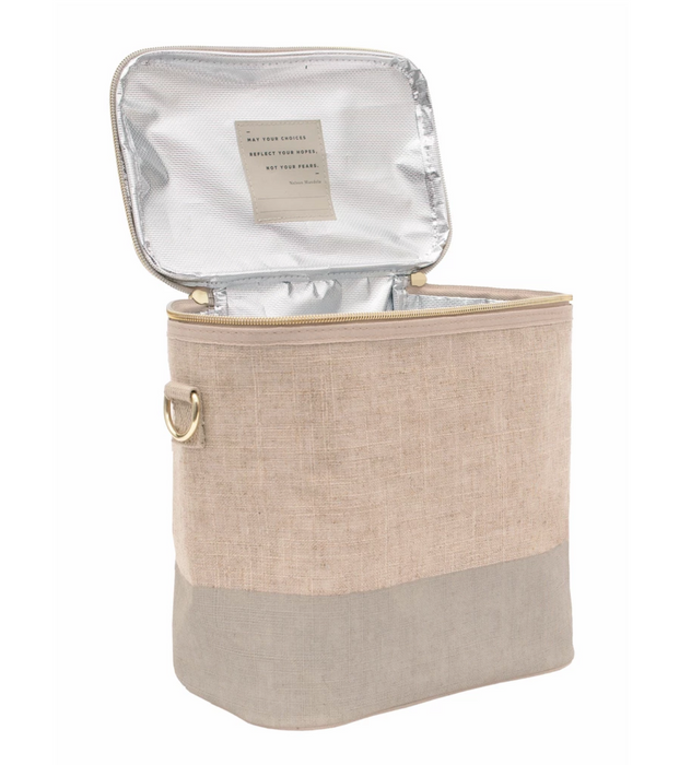 oYoung Linen Paper Lunch Poche on Design Life Kids