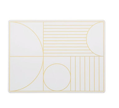 Ferm Living Outline Dinner Mat on DLK | designlifekids.com