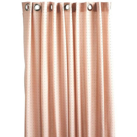 OYOY ROSE DOT SHOWER CURTAIN ON DLK
