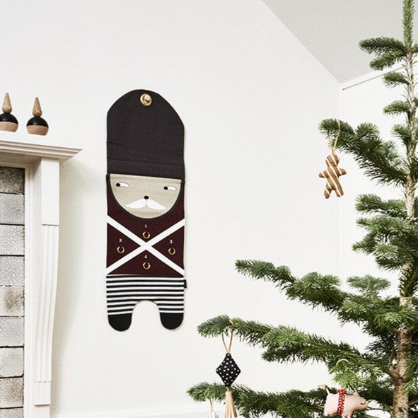 OYOY Living Christmas Guard Advent Calendar on DLK | designlifekids.com