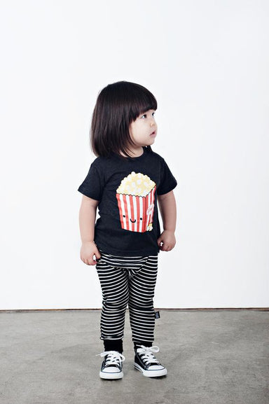 Whistle & Flute Kawaii Popcorn Shirt on DLK | designlifekids.com