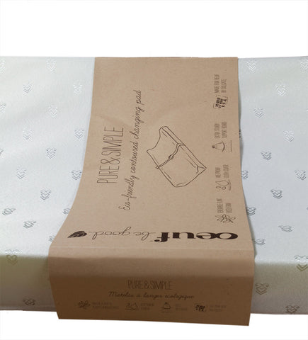 Oeuf Contoured Changing Pad on DLK