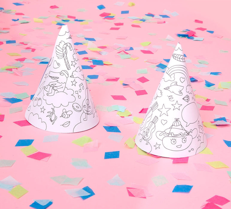 OMY DIY Party Hats on DLK