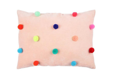 Meri Meri Pom Pom Cushion on DLK | Designlifekids.com