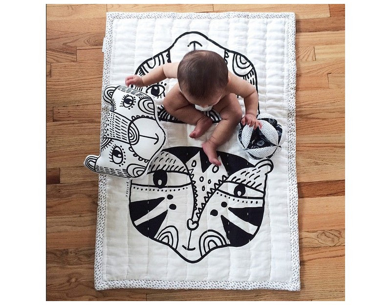 Wee Gallery WILD PLAY BLANKET ON DLK