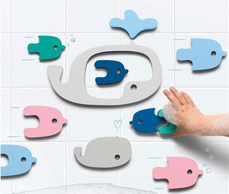 Quut Whales Puzzle Bath Toy on Design Life Kids