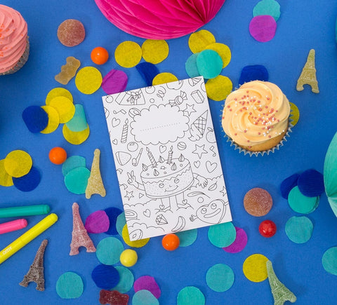 OMY DIY Party Invitations on DLK
