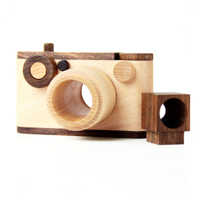 Father's Factory 35mm Vintage Wooden Toy Camera on DLK | designlifekids.com