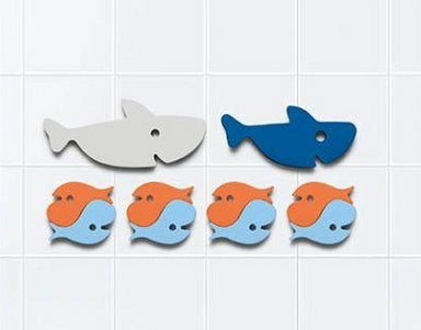 Quut Sharks Puzzle Bath Toy on Design Life Kids
