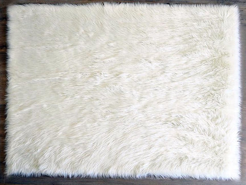 Kroma Carpets Faux Sheepskin Washable Rug on DLK | designlifekids.com
