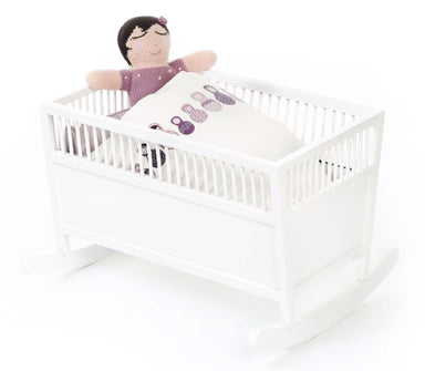 Smallstuff Rosaline Doll Cradle on DLK | designlifekids.com