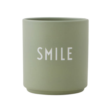 Design Letters Green Smile Favorite Cup on Design Life Kids