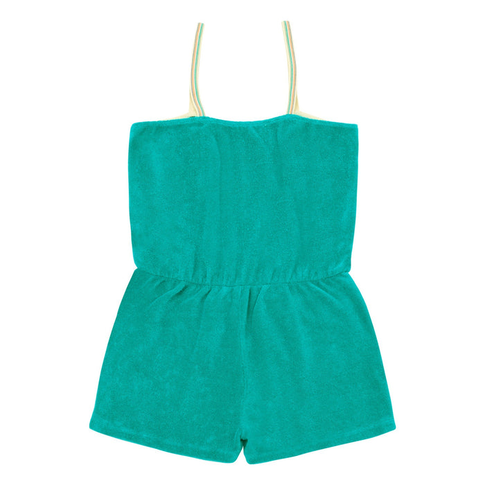 Hundred Pieces Sunny Terry Cloth Playsuit on DLK | designlifekids.com