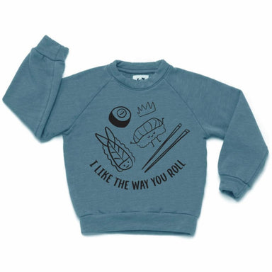 Kira Kids Sushi Raglan Sweatshirt on Design Life Kids
