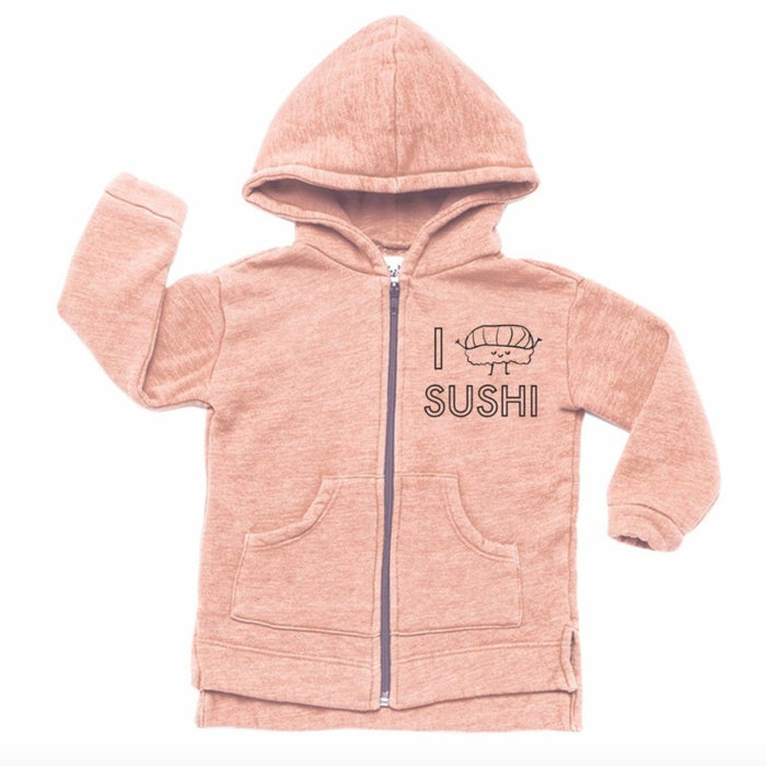 Kira Kids Sushi Hoodie on Design Life Kids