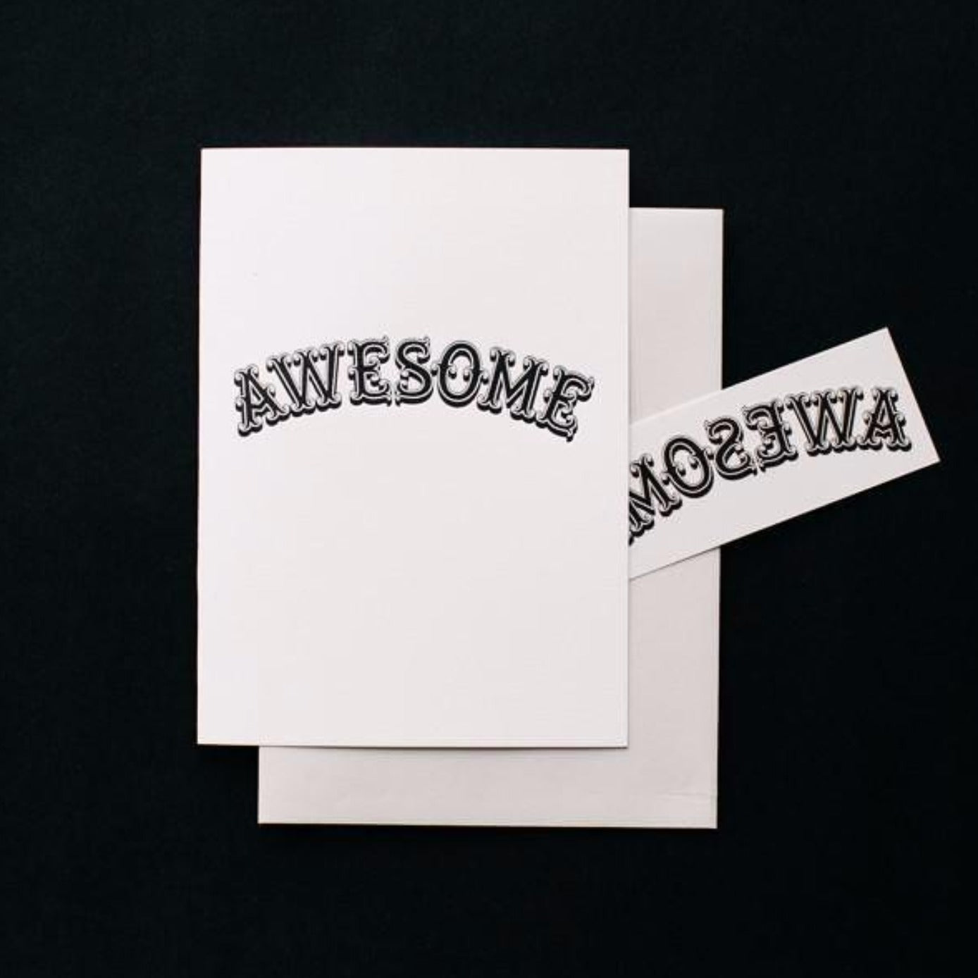 AWESOME TATTOO CARD SET