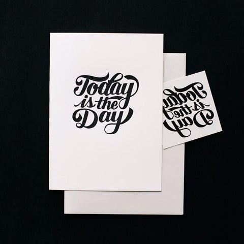 Tattly Temporary Tattoo and Card Set on DLK