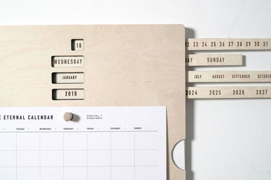 Stories In Structures Kolekto Eternal Calendar at Design Life Kids