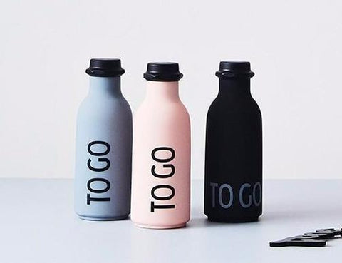 Design Letters To Go Water Bottle on DLK | designlifekids.com