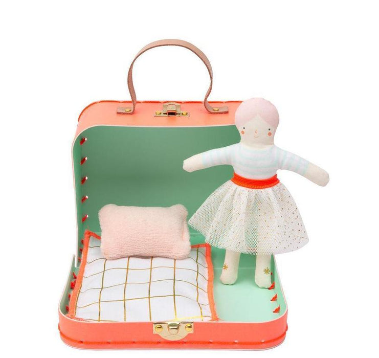 Meri Meri Mini Matilda Doll Suitcase House on DLK | designlifekids.com