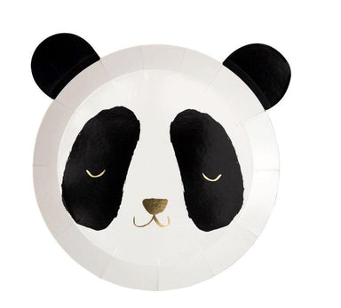 Meri Meri Panda Shaped Party Plates on DLK | designlifekids.com