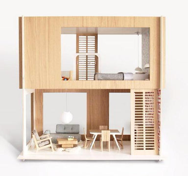 Miniio Miniko Modern Barbie Sized Dollhouse on DLK