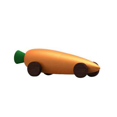 Elements Optimal Wooden Carrot Car on Design Life Kids