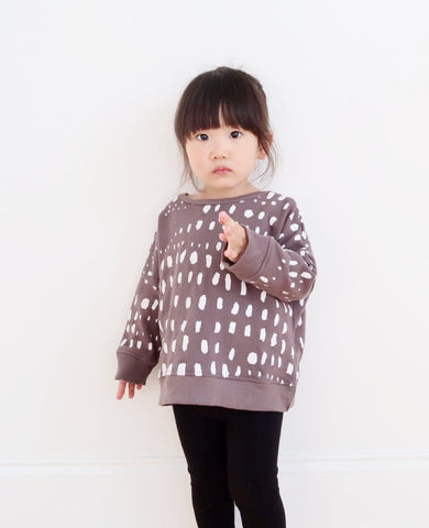 Kid and Kind Dots In A Row Sweatshirt (c) Image Owned DLK