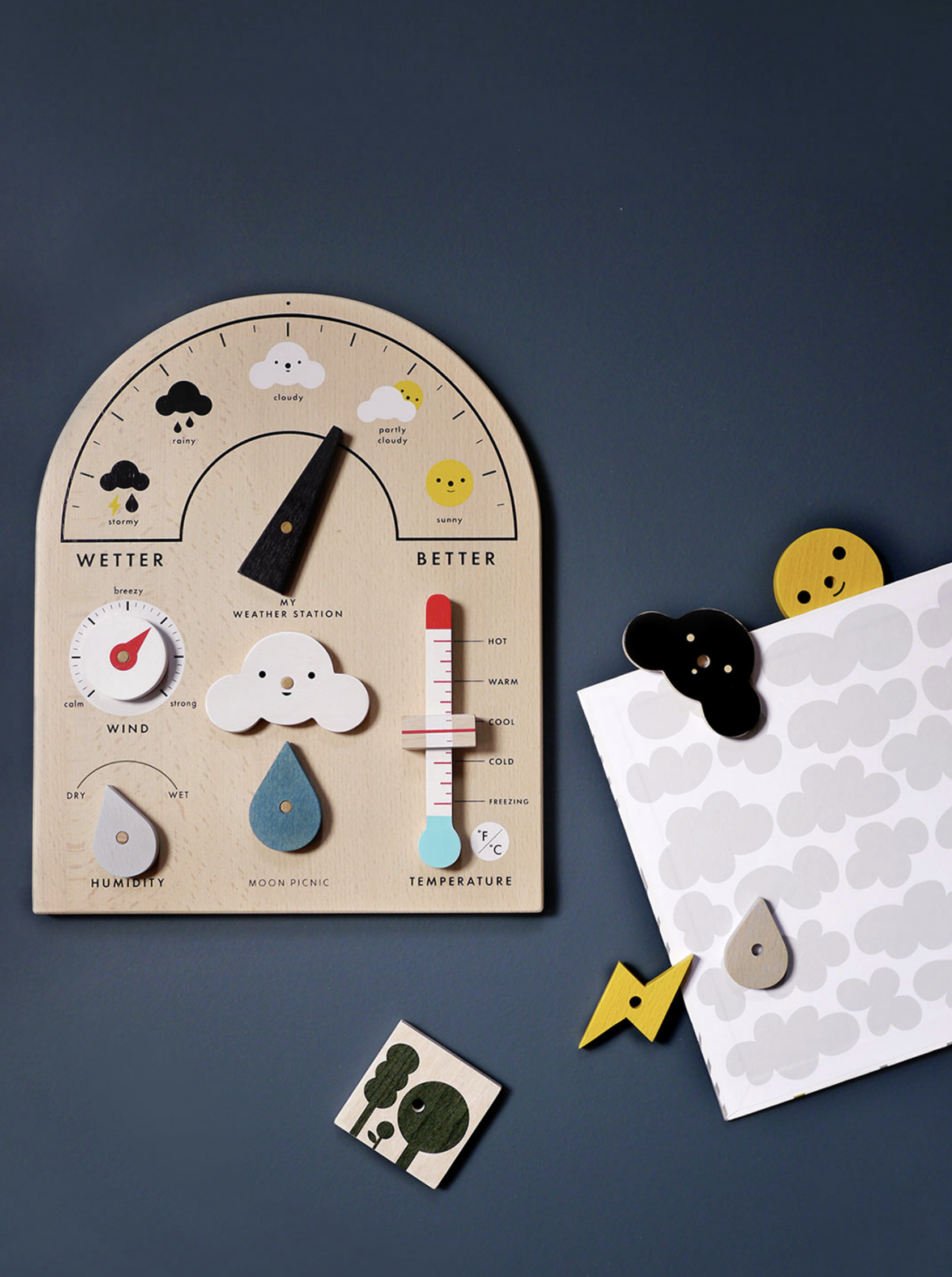Rock & Pebble My Weather Station on DLK | designlifekids.com