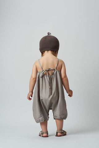Belle Enfant Cecile Silk Romper on DLK