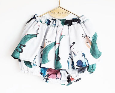 Wolf & Rita Childrenswear on DLK - Leonor Skirt Bloomer on DLK
