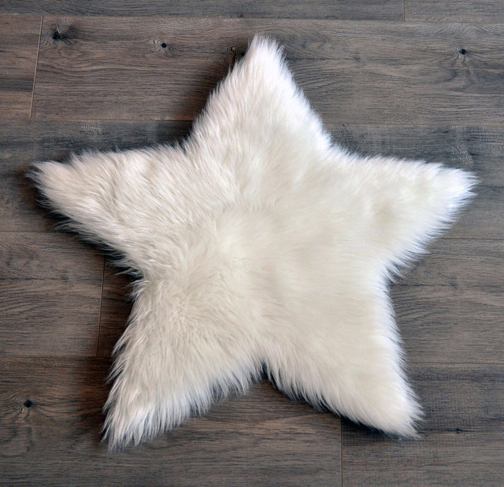 Kroma Carpets Faux Sheepskin Washable Rug on DLK