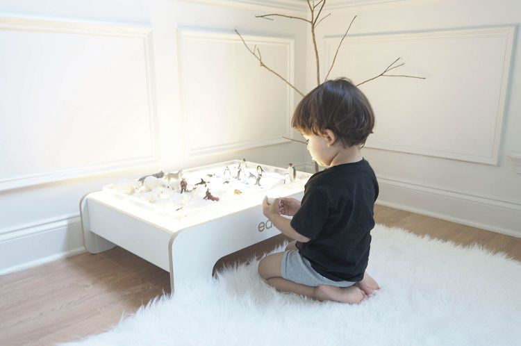 EDU2 Modern Light Play Table on DLK