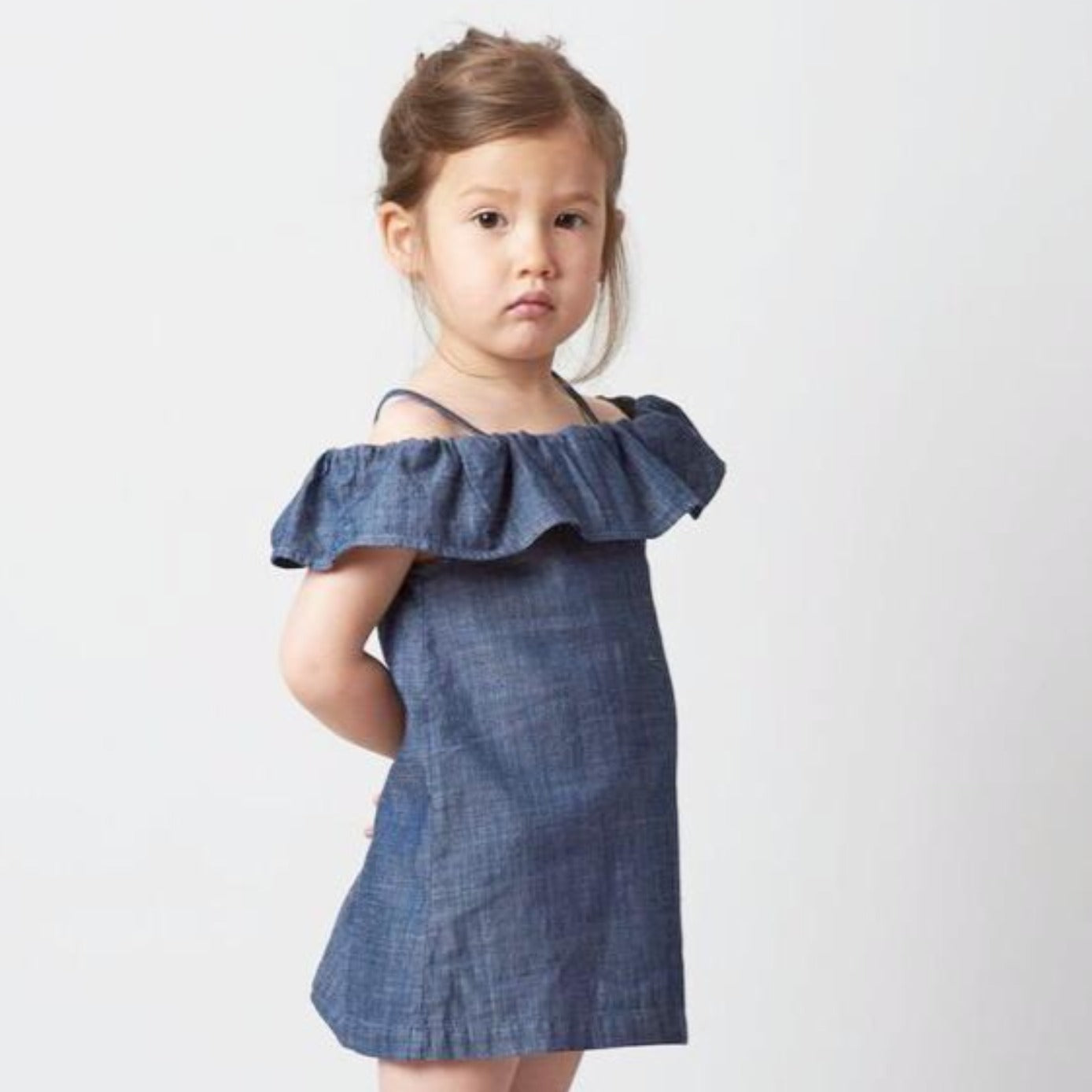 Belle Enfant Bardot Off-The-Shoulder Dress on DLK
