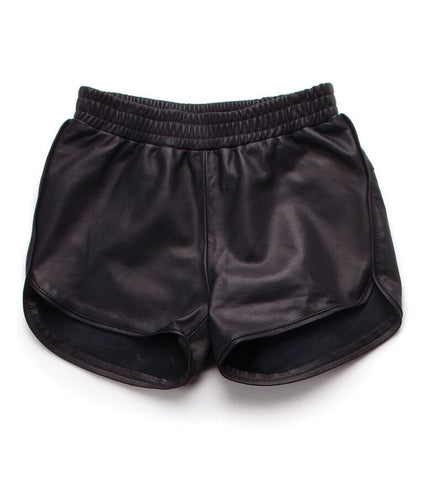 Nununu World Leather Gym Shorts for Girls on DLK